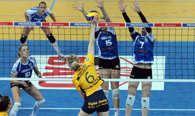 Volleyball Bundesliga startet in Schwerin und Frankfurt! - Foto: Heiden/SSC