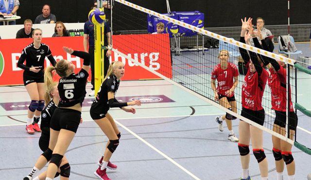 Volleyball-Team Hamburg verliert trotz starker Leistung - Foto: VTH/Lehmann