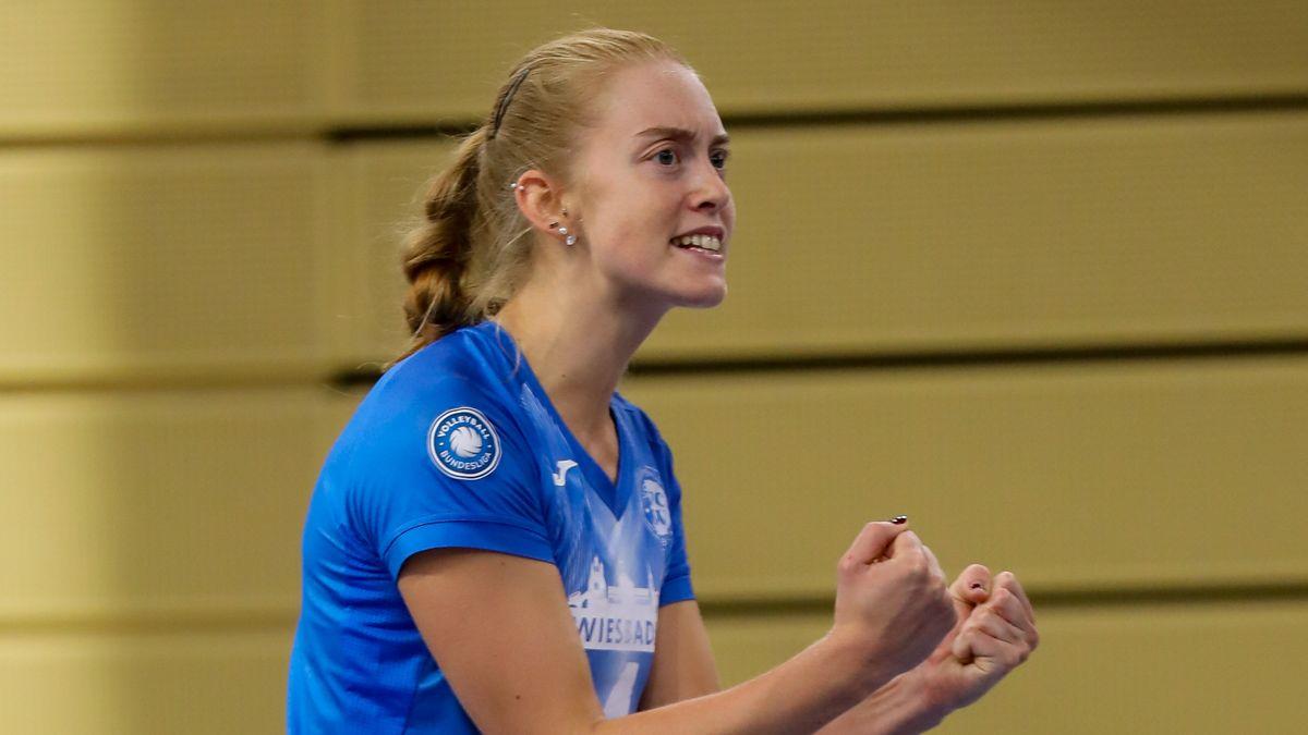 Tanja Großer spielt weiterhin für den VC Wiesbaden - Foto: Detlef Gottwald