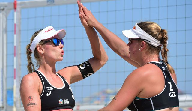 Borger/Büthe: Fünfte in Long Beach - Foto: FIVB