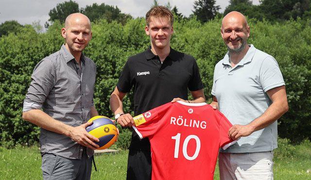 Der TV Rottenburg verpflichtet Zuspieler Jan Röling vom Volleyball Internat Frankfurt - Foto: TV Rottenburg