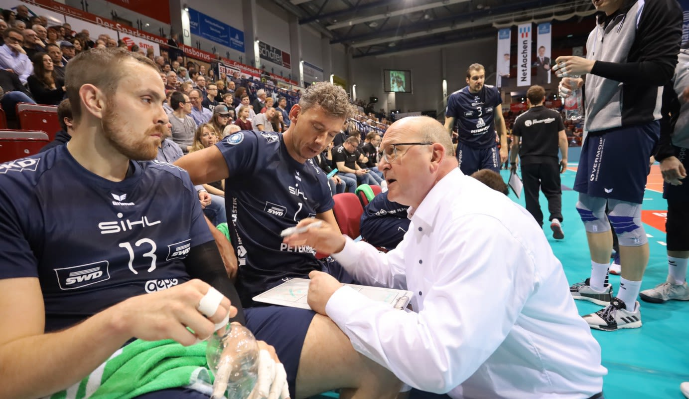 SWD powervolleys Düren: Trainer Stefan Falter verlängert - Foto: powervolleys