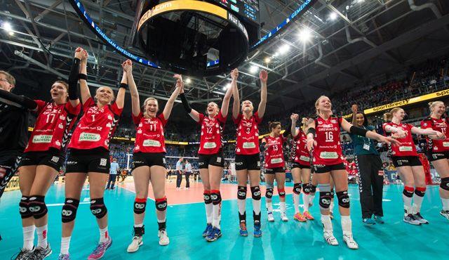 Pokalschlacht in Mannheim - Dresden holt den Pokaltitel - Foto: Conny Kurth