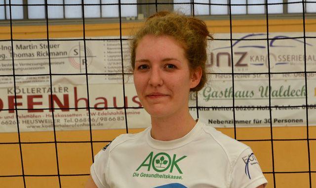 Zuspielerin Tina Alles zurück bei den proWIN Volleys TV Holz - Foto: proWIN Volleys TV Holz 02 e.V., Fotograf: Dirk Reckstadt