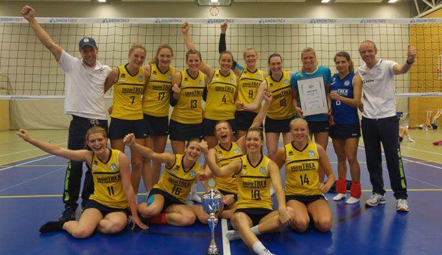 DSHS SnowTrex Köln zum vierten Mal in Folge WVV-Pokalsieger - Foto: DSHS SnowTrex Köln