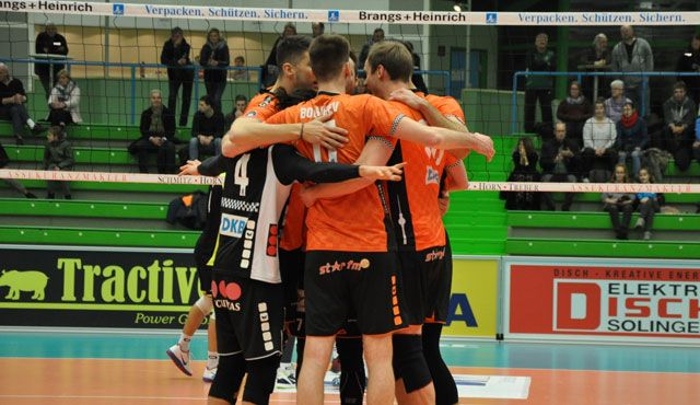 Platz zwei erobert - Foto: BR Volleys