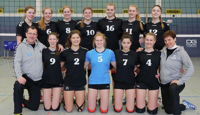 U20 und U16 des VC Wiesbaden verpassen knapp das Viertelfinale bei ihren Deutschen Meisterschaften - Foto: Detlef Gottwald