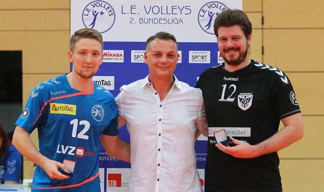 L.E. Volleys siegen auch in schwarzer Hose - Foto: L.E. Volleys e.V.