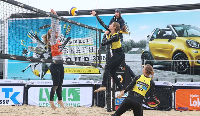 NawaRo Beach-Team wird Siebter in Dresden - Foto: hoch-zwei, smart-beach-tour.tv