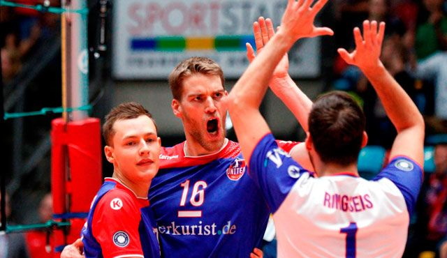 Sensation verpasst, Hoffnungen für die Zukunft geweckt - Foto: United Volleys/Gregor Biskup