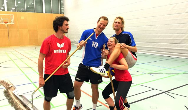 Vorgestellt: Unsere Diagonalspieler putzen alles weg - Foto: SC Freising