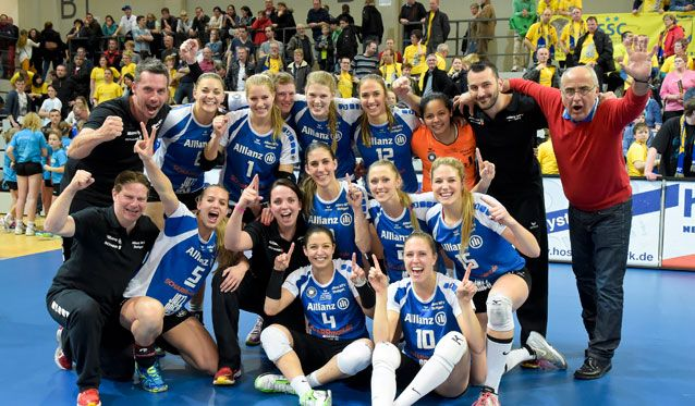Allianz MTV Stuttgart steht im Endspiel um die Deutsche Meisterschaft - Foto: Tom Bloch/www.tombloch.de