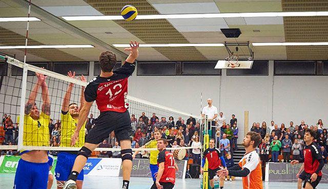 SSC Karlsruhe erkämpft drei Punkte gegen Friedrichshafen - Foto: Andreas Arndt