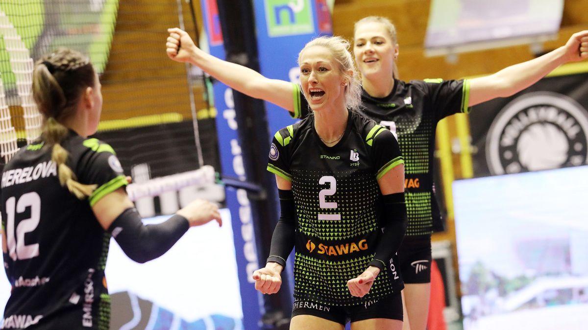 Ladies in Black zum letzten Hauptrundenspiel zu Gast in Niederbayern - Foto: Ladies in Black Aachen\ Andreas Steindl
