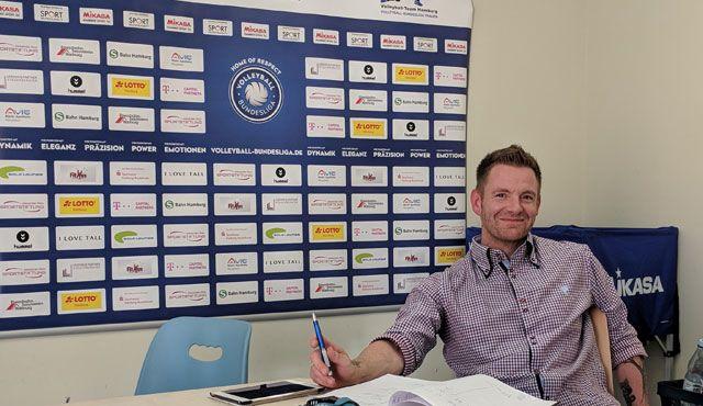 Torben Thiede erweitert das Trainer- und Funktionsteam beim Volleyball-Team Hamburg - Foto: VTH