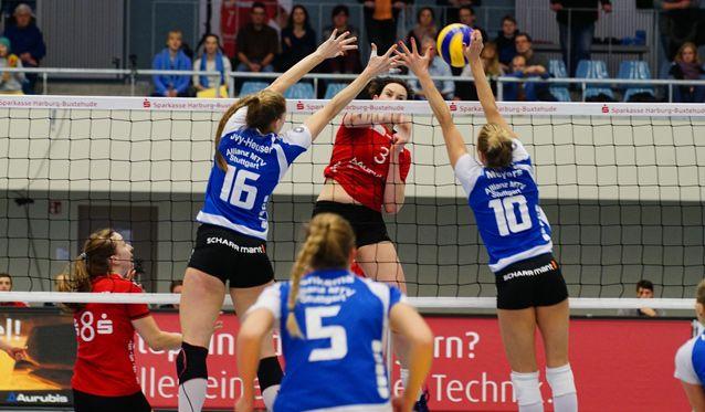 VT Aurubis Hamburg nicht konstant genug gegen starke Stuttgarterinnen - Foto: VT Aurubis Hamburg
