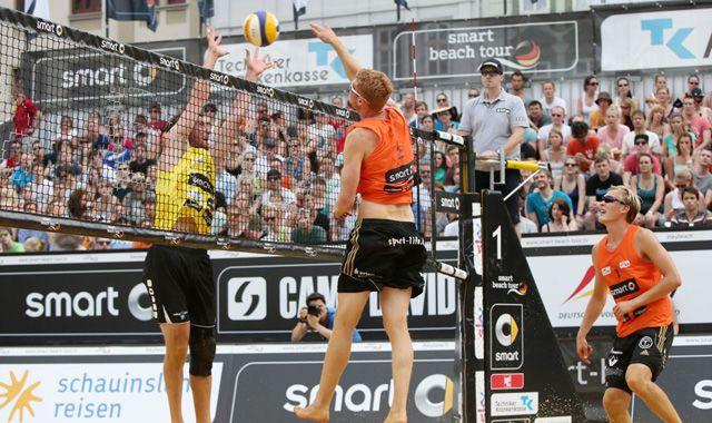 TC-Beach Duo in Dresden auf Platz Vier! - Foto: Kurt Meyer-Bergmann