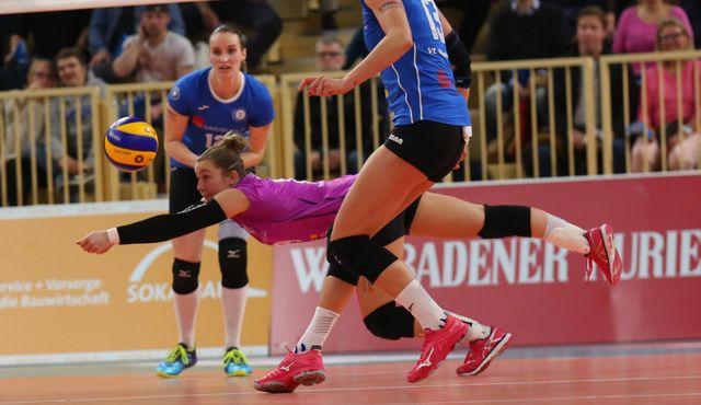 Heimspiel verloren, 1.000 Euro gesammelt: VCW unterliegt gegen Münster mit 1:3 - Foto: Detlef Gottwald