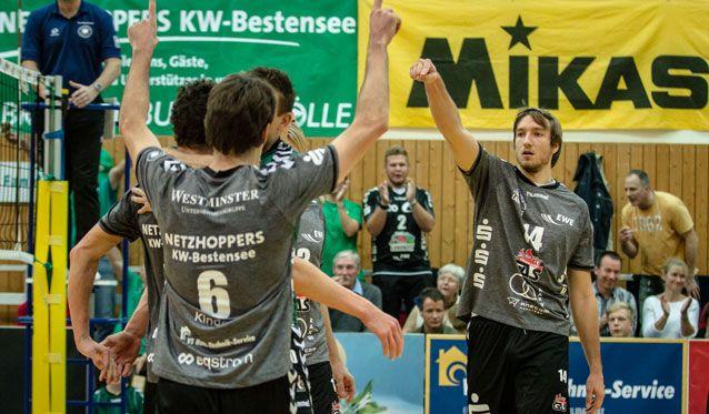 NETZHOPPERS holen ersten Sieg nach der Winterpause - Foto: Gerold Rebsch