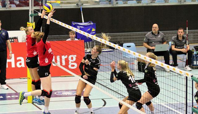 Hamburger Volleyball-Damen geben nicht auf - Foto: VTH/Lehmann