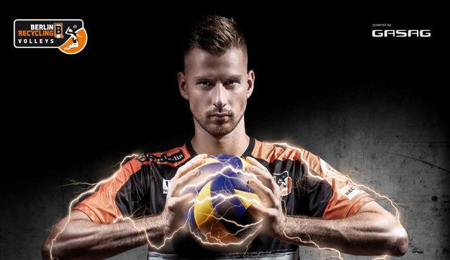 Bogachev neues BR Volleys | Fanstrom Gesicht - Foto: TeamGASAG