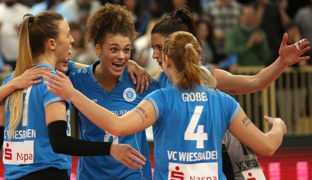 VCW erkämpft sich Platz 4 mit Tie-Break-Krimi: 3:2-Erfolg gegen Aachen - Foto: Eckhard Herfet
