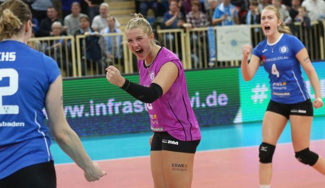 Lisa Stock bleibt beim VCW – Libera unterschreibt für zwei weitere Jahre - Foto: Detlef Gottwald