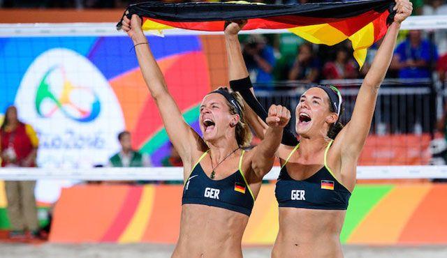 Vom Olympiasieger geschlagen - Foto: FiVB