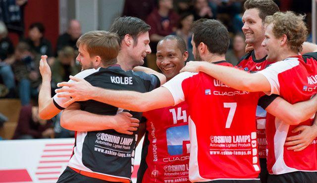Oshino-Volleys am Mittwoch voll im Stress-Test! - Foto: Oshino Volleys Eltmann