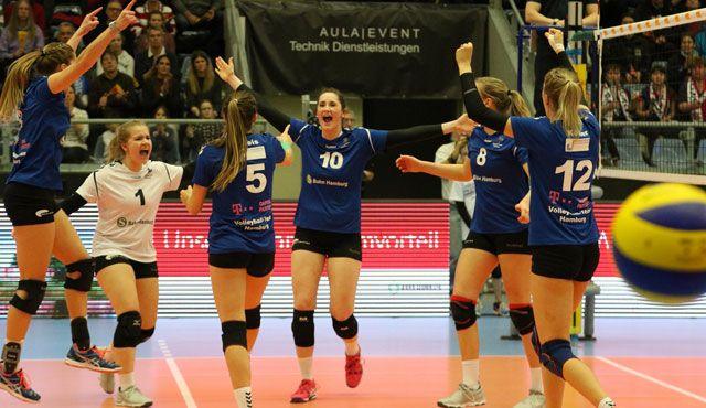 Volleyball-Team Hamburg empfängt die Stralsunder Wildcats - Foto: VTH/Lehmann