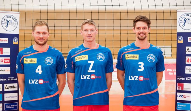 L.E. Volleys wollen 1. Tabellenplatz verteidigen - Foto: Elmar Keil