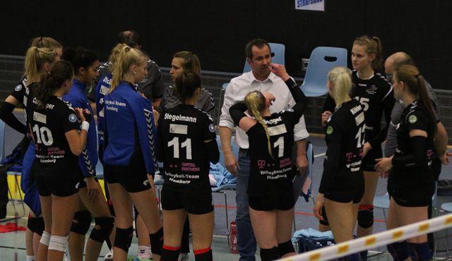 Volleyball-Team Hamburg verliert bei Bayer Leverkusen - Foto: VTH/Lehmann