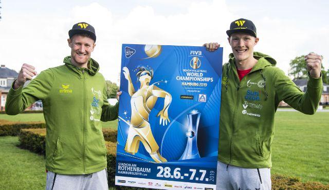 Rattenfänger Beach-Team  bei WM in Hamburg für Deutschland  dabei - Foto: FiVB