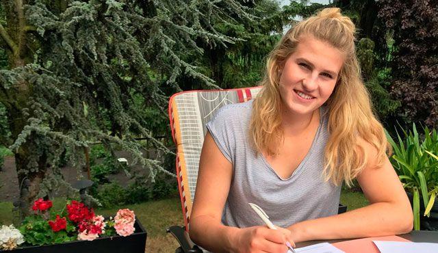 Annalena Grätz bringt weitere Erstligaerfahrung zum Volleyball-Team Hamburg - Foto: VTH