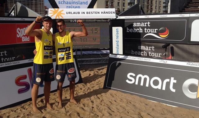 Tim Noack schafft sensationell Qualifikation für Smart Beach Tour in Dresden - Foto: SC Freising