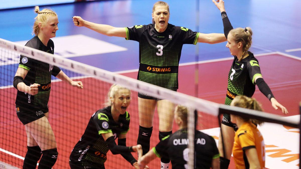 Ladies in Black haben gegen Wiesbaden die Nase ganz leicht vorn - Foto: Ladies in Black Aachen // Andreas Steindl