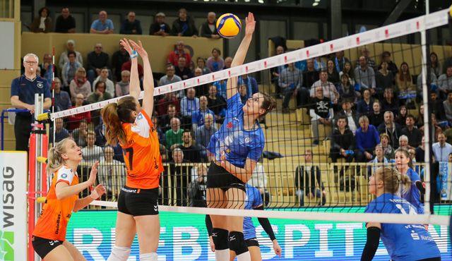 VCW verliert hochklassiges Match gegen Stuttgart - Foto: VC Weisbaden
