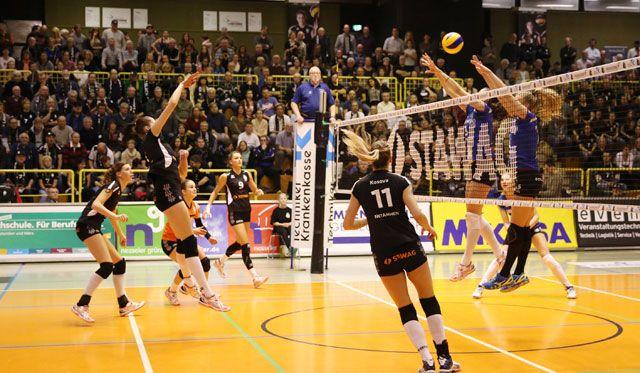 Ladies in Black: mit vollem Risiko gegen den Meister und Pokalsieger - Foto: Ladies in Black Aachen // Andreas Steindl