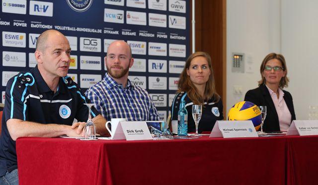 Bundesligaauftakt der VCW-Volleyballerinnen steht kurz bevor - Foto: Detlef Gottwald