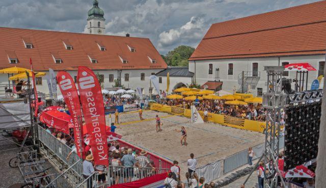 Beachvolleyball Saisonhighlight in München  - Foto: Stefan Rossmann/beach2go