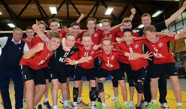 Krifteler U20 Volleyballnachwuchs komplettiert Erfolg - Foto: Frank Bachmann