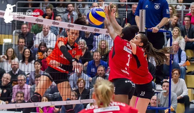 NawaRo und Rote Raben bieten packendes Match - Foto: Schindler