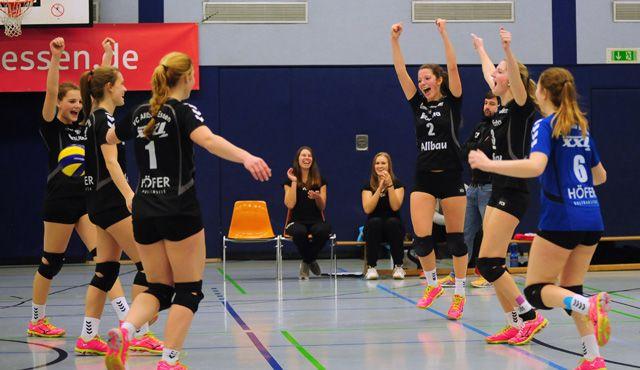 VC Allbau Essen - VC Eintracht Geldern 3:0 - Foto: VC Allbau Essen