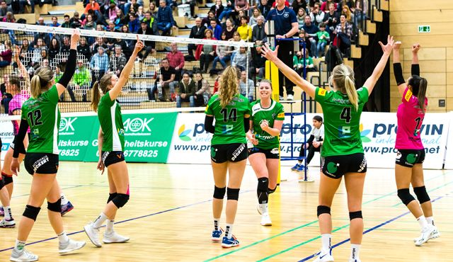 proWIN Volleys TV Holz empfangen den Verfolger aus Hessen - Foto: Georg Kunz
