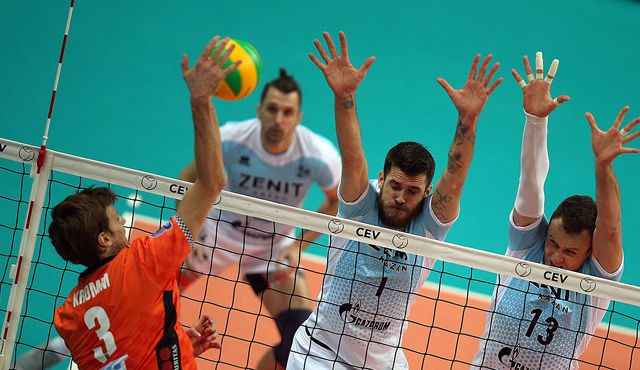 Moculescu-Debüt gegen den Weltmeister - Foto: CEV
