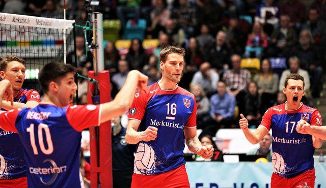 """Befreit und bereit zum """"Showdown"""" nach Berlin - Foto: United Volleys/Gregor Biskup"""