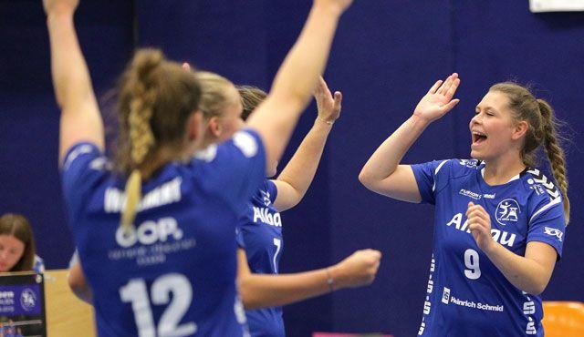 Glatter Heimsieg für Essener Volleyballerinnen - Foto: Tom Schulte