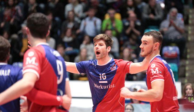 """Die härteste Serie der Saison"" - Foto: United Volleys/Gregor Biskup"