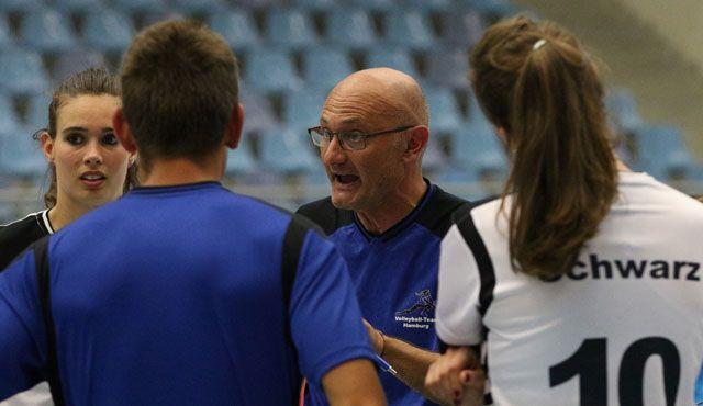 Trainer Fabio Bartolone und das Volleyball-Team Hamburg beenden die Zusammenarbeit - Foto: VTH/Lehmann