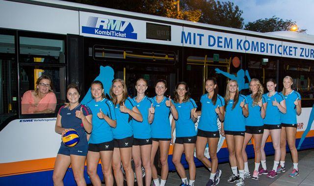 Jennifer Pettke ist nach Volleyball-EM zurück in Wiesbaden - Foto: Detlef Gottwald